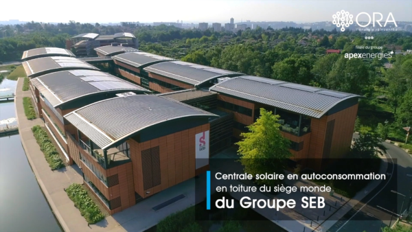 Centrale PV Groupe Seb